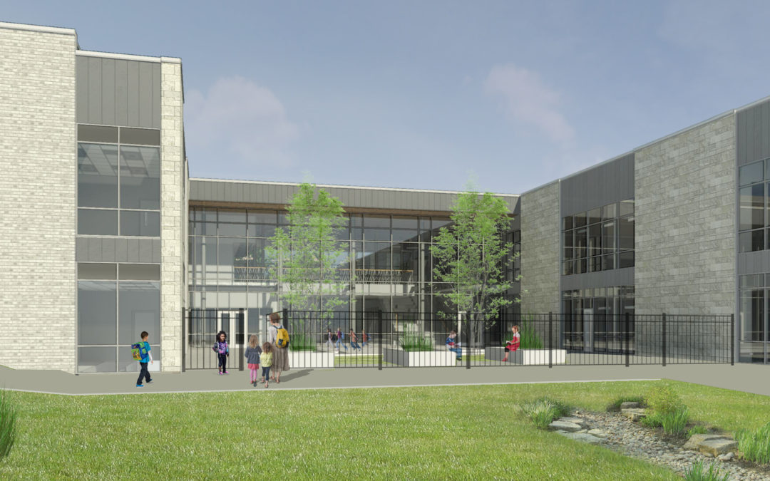 First Look at New Elementary School at TRACE